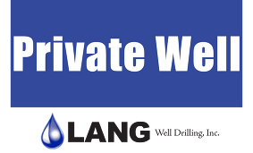 Lang Well Drilling, Inc. Private Well Logo