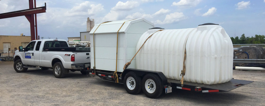 Photo of Water Storage Tank on Trailer
